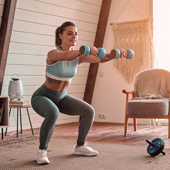 Restez en forme… sans aller au gym